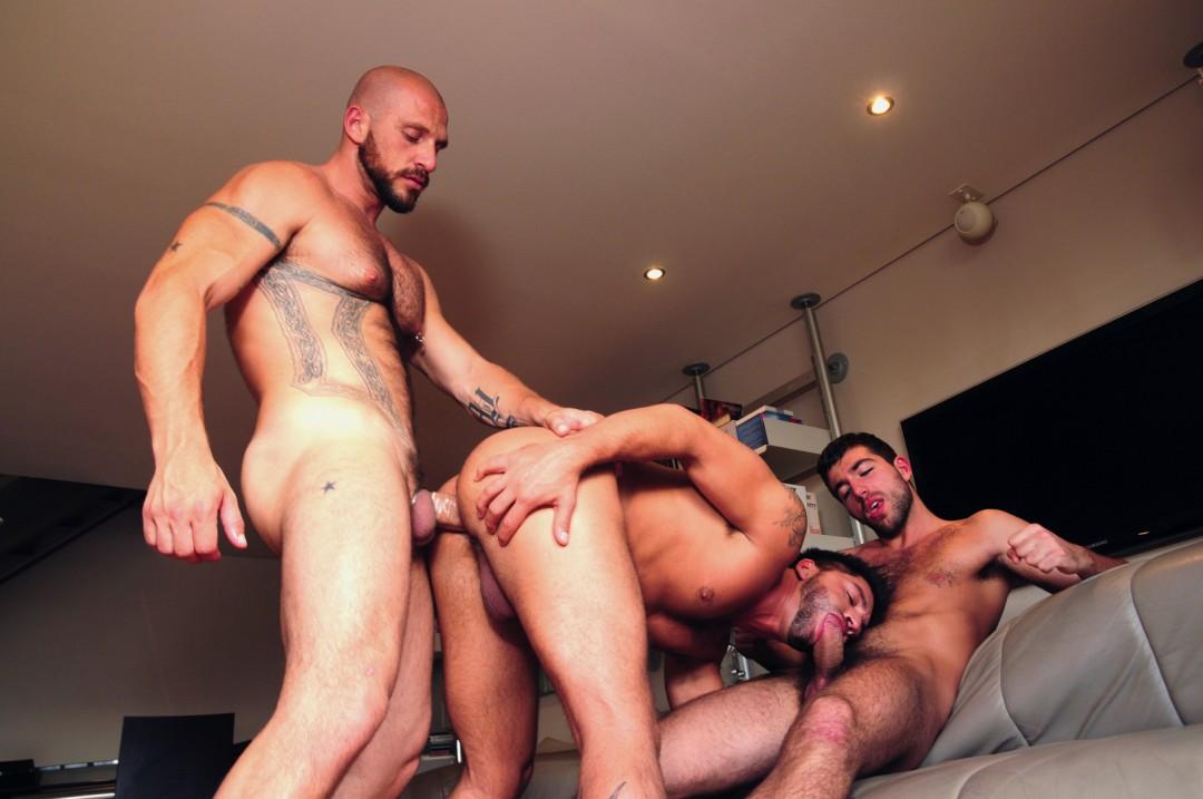 Alpha males gay orgy