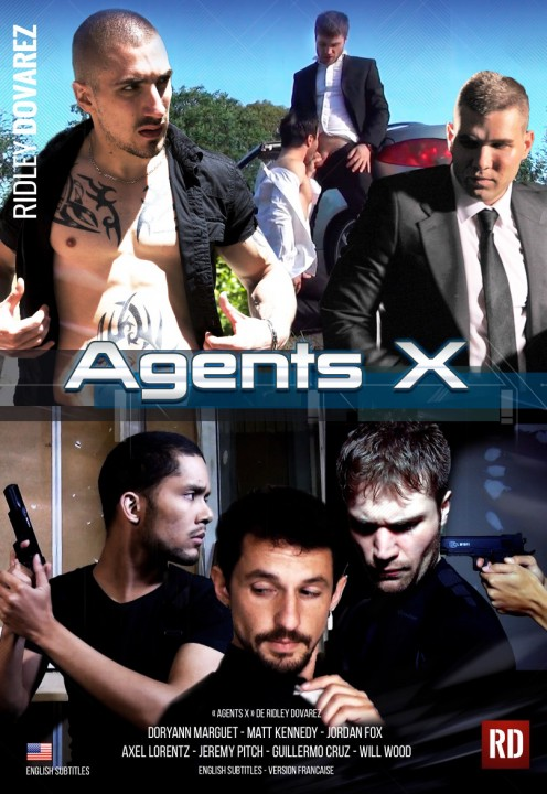 Agents X - Best french gay DVD award by PinkTv