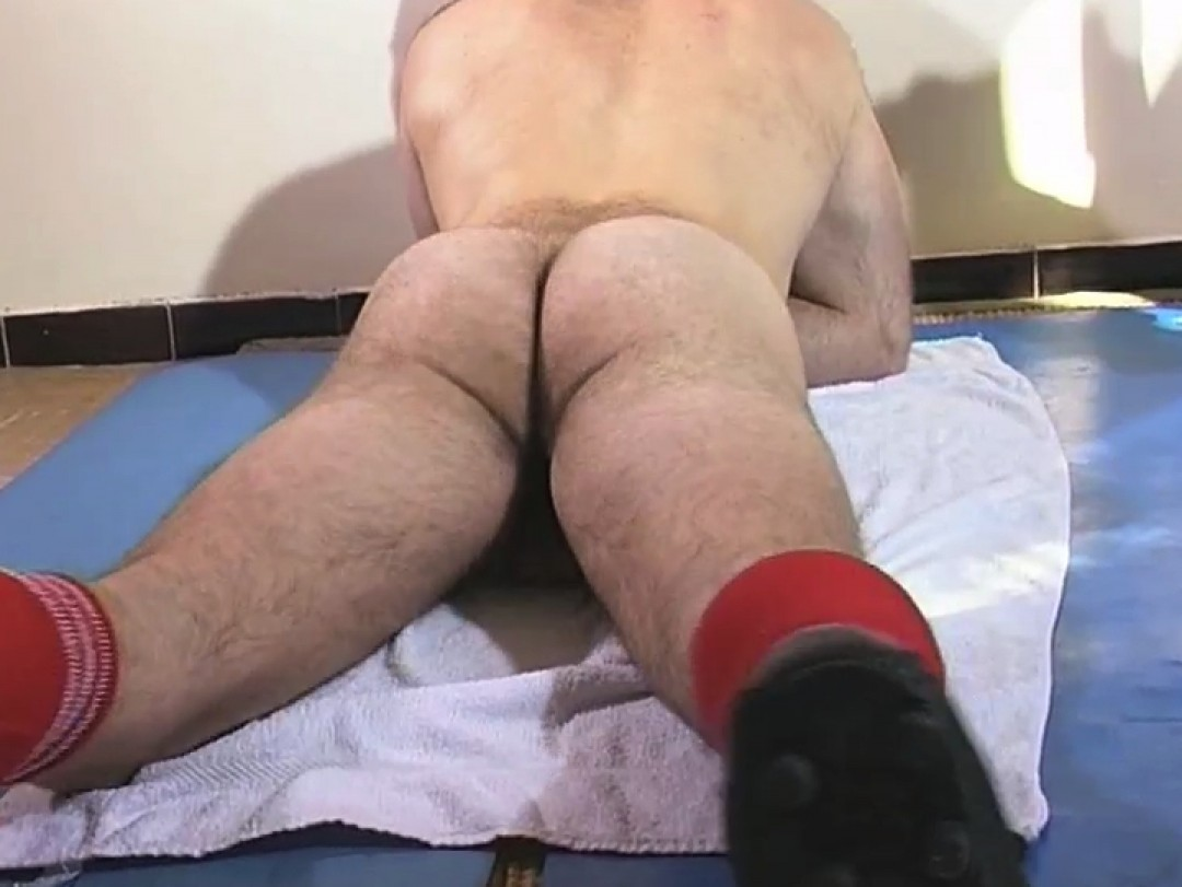 Hot footballer's dick