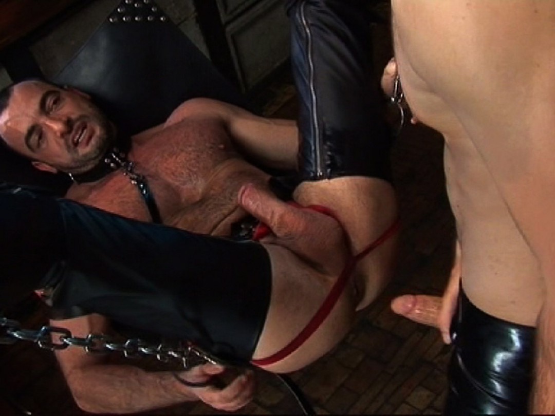 Dog-slave and his master