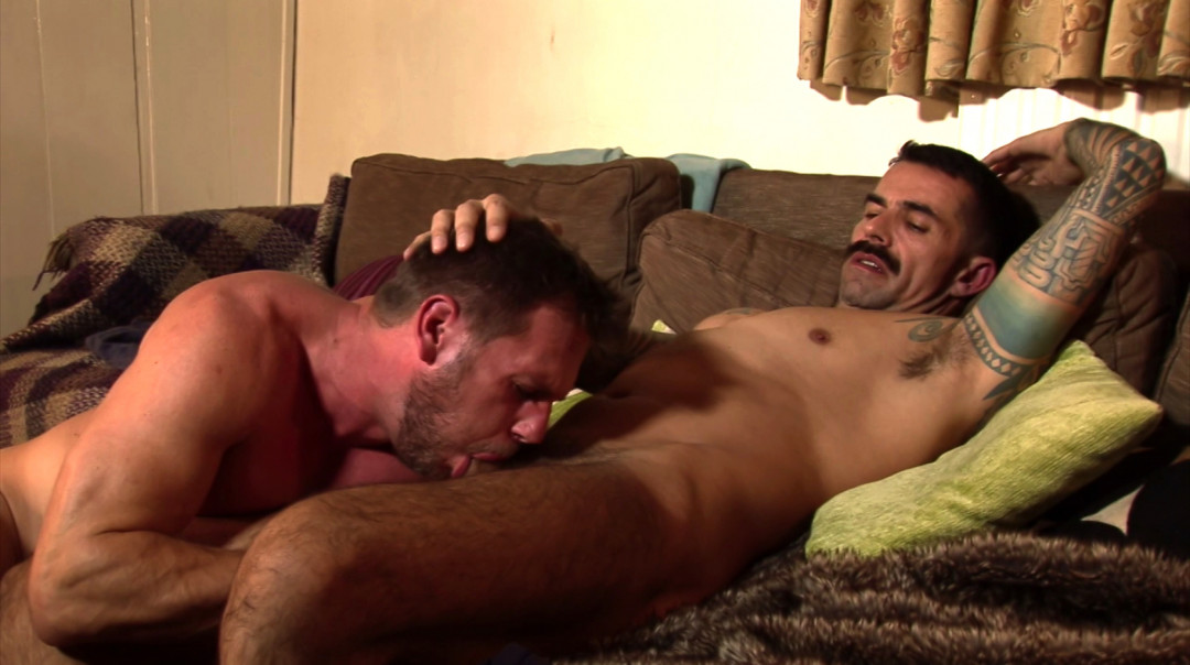 Joining the gay couple for a hard fuck