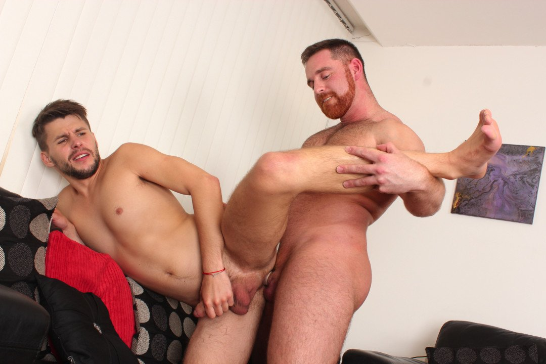 Ginger Dom Top comes to destroy Dmitry Osten's ass