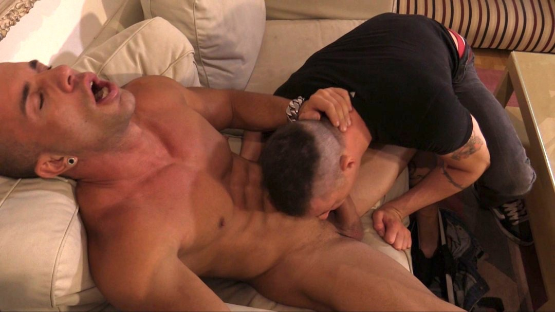 Gay slave abused by pervy straight master