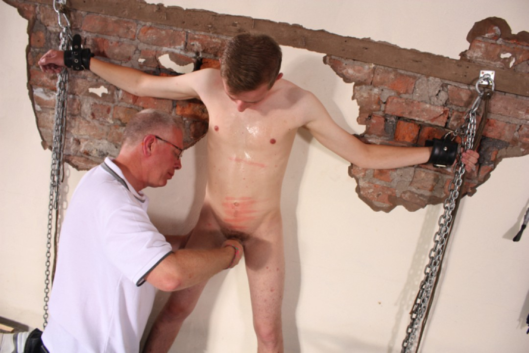 Bad Boy Olly Needs A Caning!