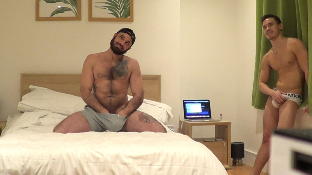 Bairon HELL webcam porn shoot fucked by Oliver HUNT