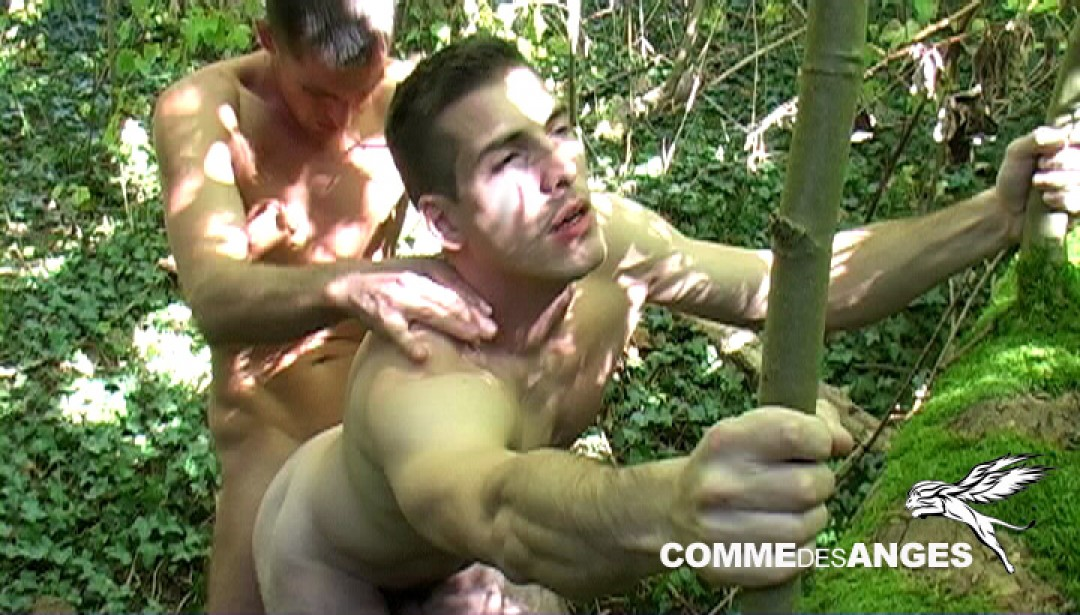 Found and fucked in the woods