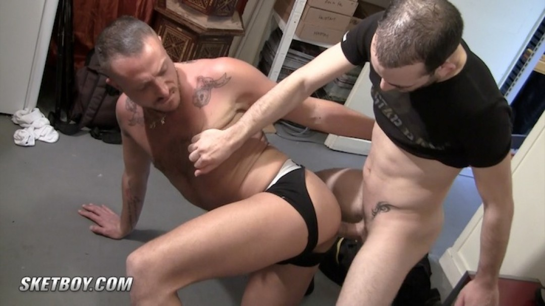 Hot and hard for Gabriel