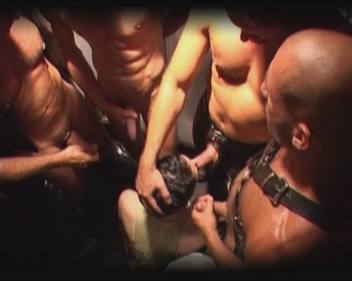 Gang bang group sex