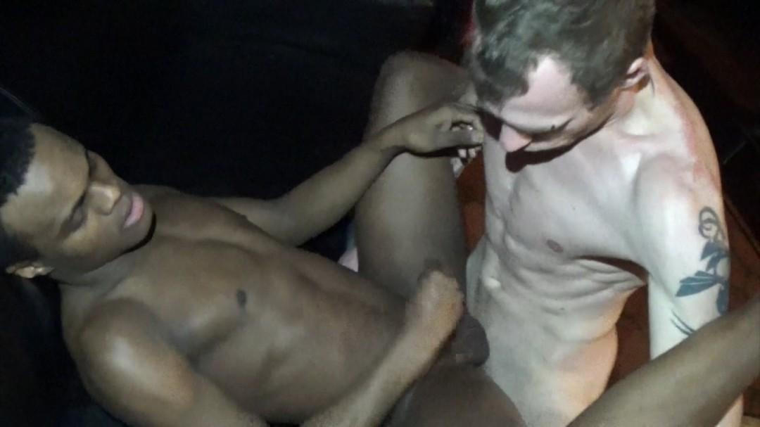 The porn casting of Ebony Guy