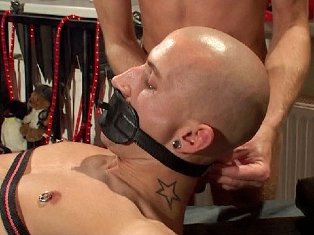 Slaves in total submission to their master