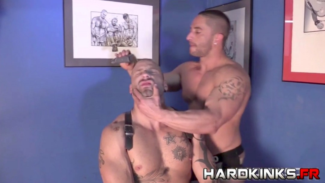 Masters and slaves gay orgy