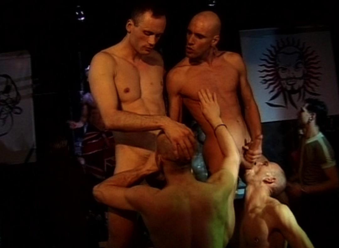 Techno gay orgy