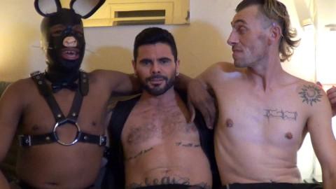 Gang bang avec Bonny BOY et MARIO DOMENECH