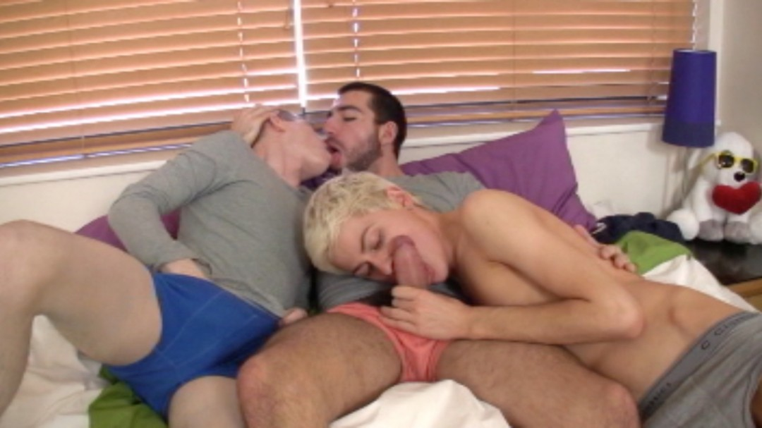 Our first threesome...