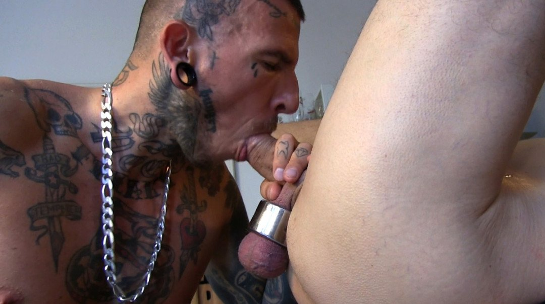 Kinky gay porn with a gay puppy
