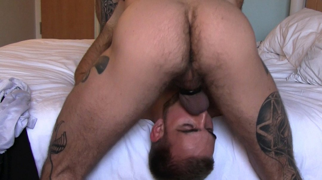 Creampie for a young and beautiful cum boy