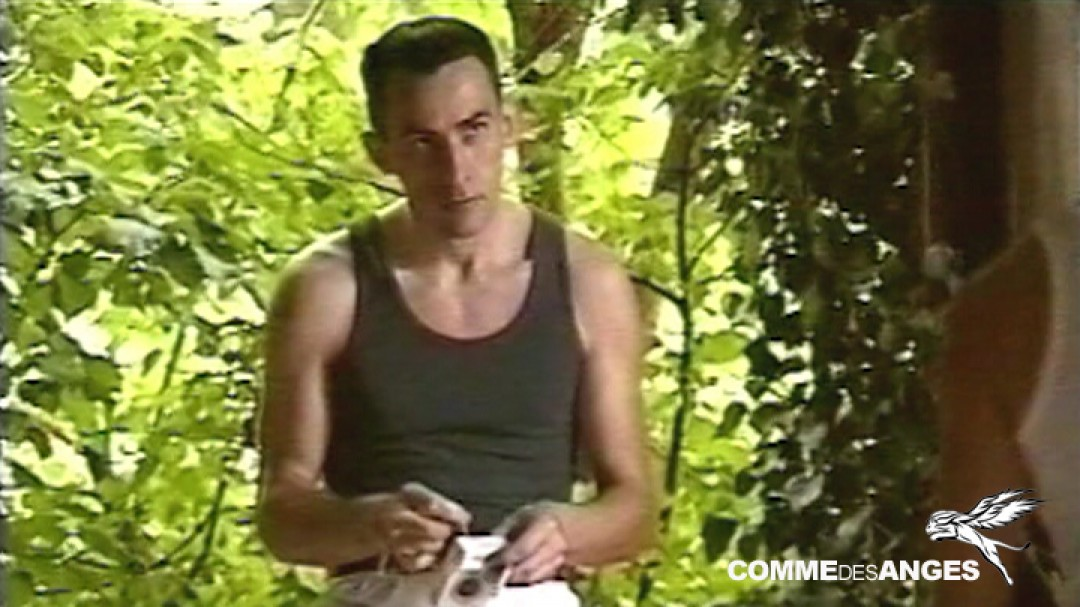 Hot soldier: lost and found in the woods