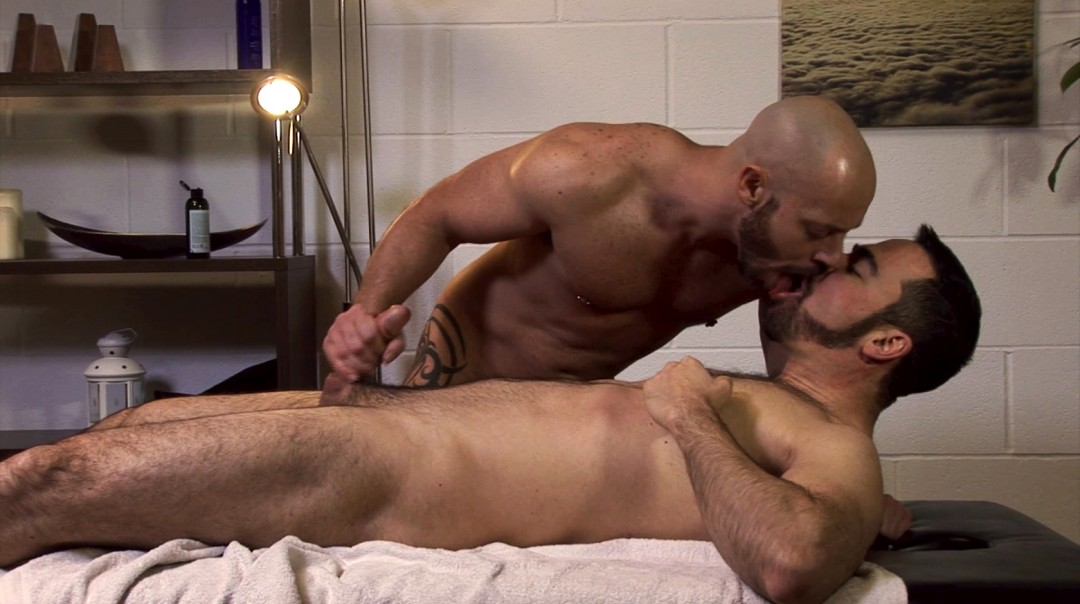 A divine prostate massage
