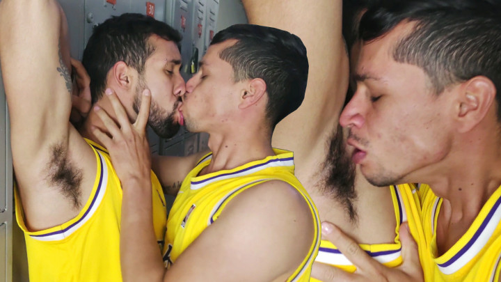 Das Nachtraining der jungen kolumbianischen Basketballspieler