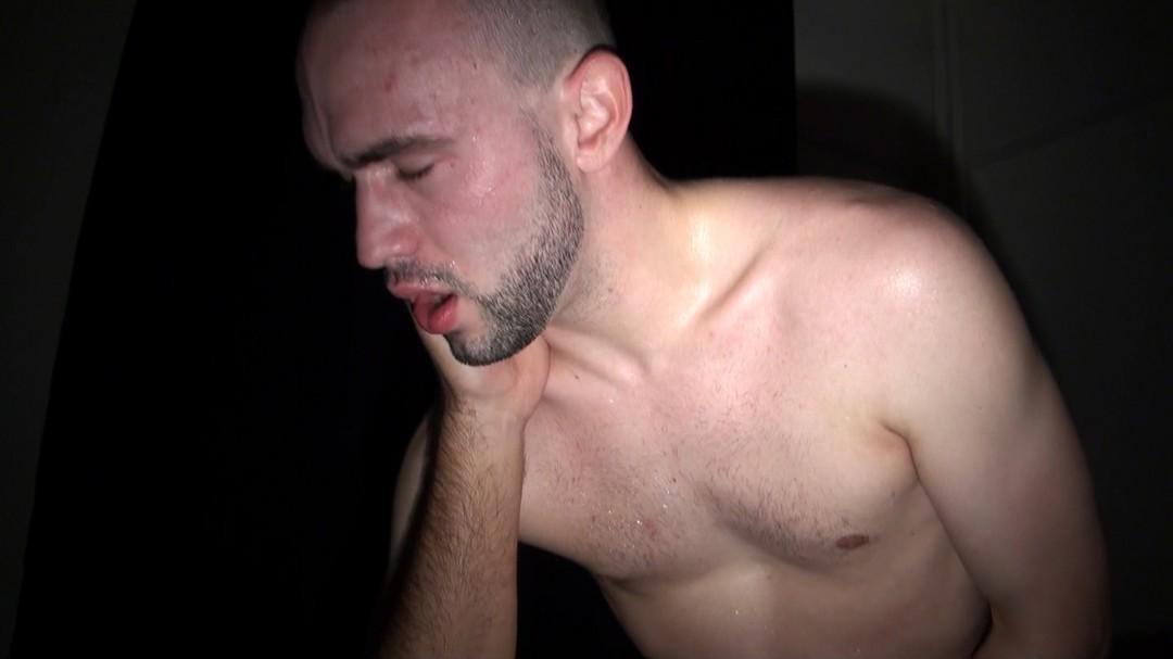 sleeping, MALIK TN show his monster cock
