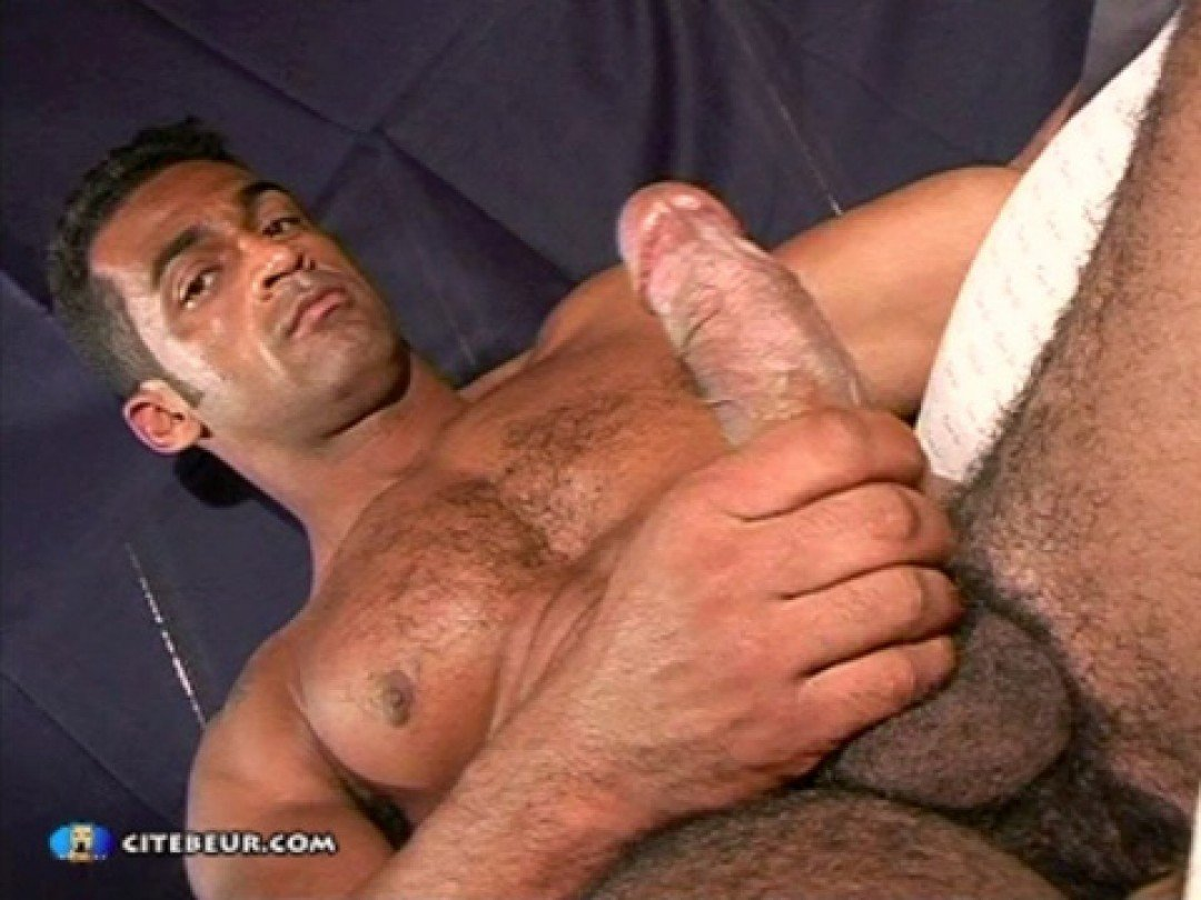 MANLY MIXED-RACE STUD