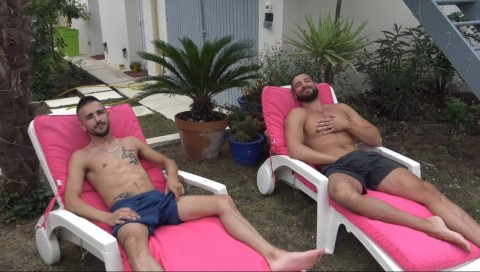 Enzo RIMENEZ dosé par un sexy hetero de passage