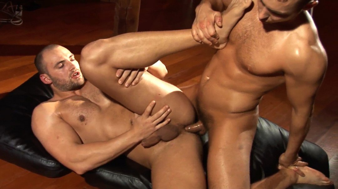 Oiled Up Muscle Fuck