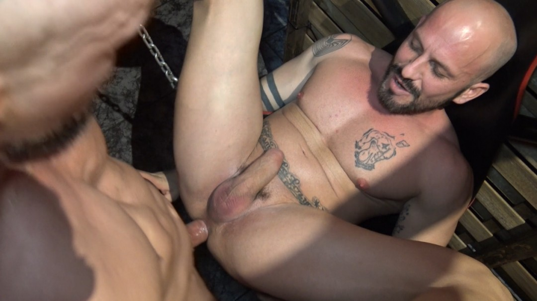 RONY YARZ fucked in jockstrap and Harnes by his friend