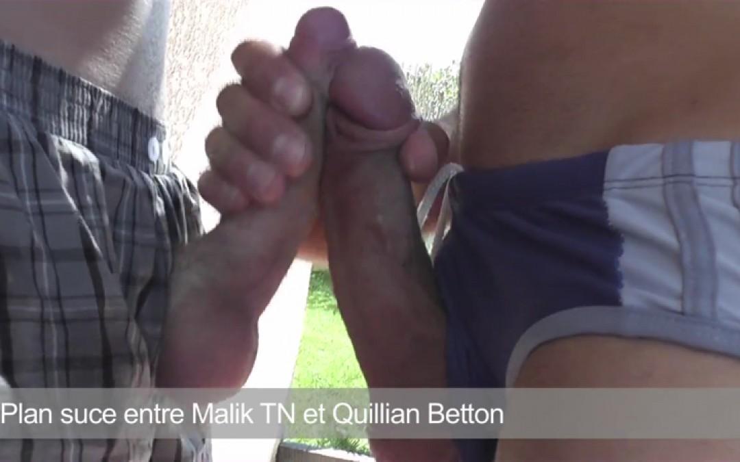 Plan suce entre Malik et Quillian