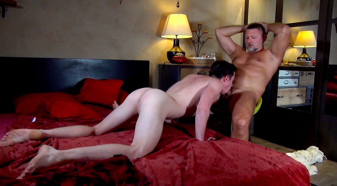 Young demon in the hands of a perverted bear - Anus Demonius - Scene 2