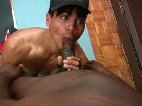 pompe gay black