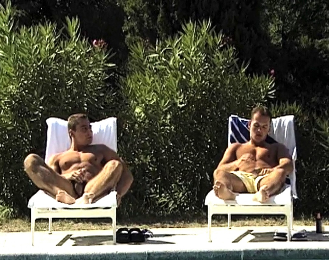 Testosterones by the pool