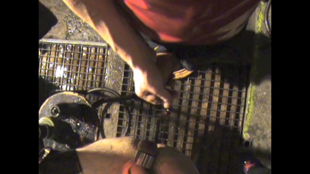Remplissage de trou hardcore sur sling à lyon