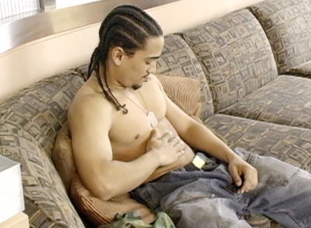 Latino rasta and his big dick