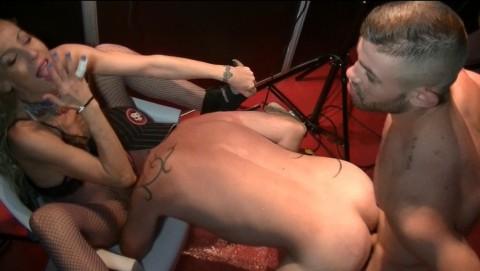 Sextape Bisexuelle avec Ricky BLUE et Jess ROYAN
