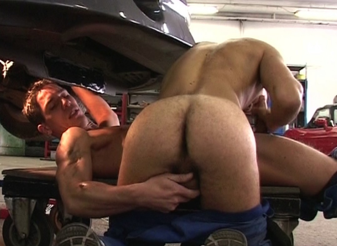 Servicing cars and dicks