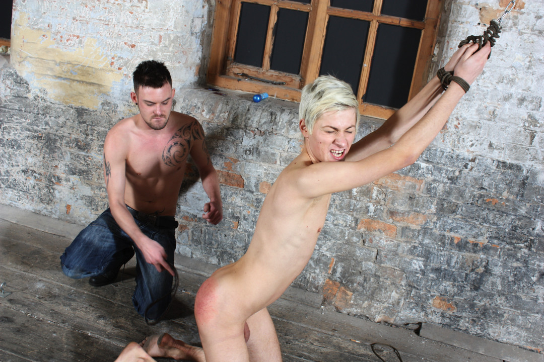 Your first time in a slave gay porn
