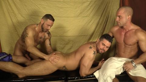 Massage en sueur pour les zobeurs