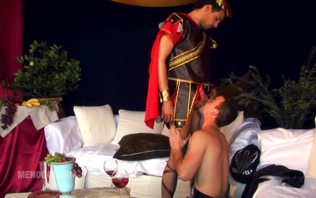 Julius Caesar's sexual fight against a Gladiator