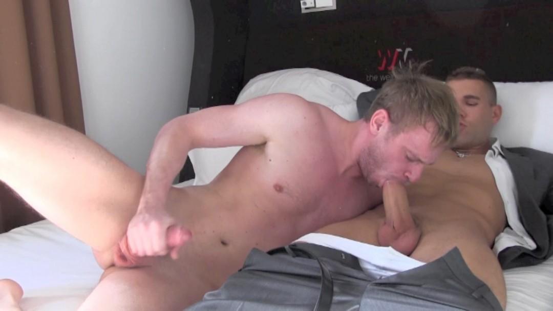 In bed in Berlin with JORDAN FOX