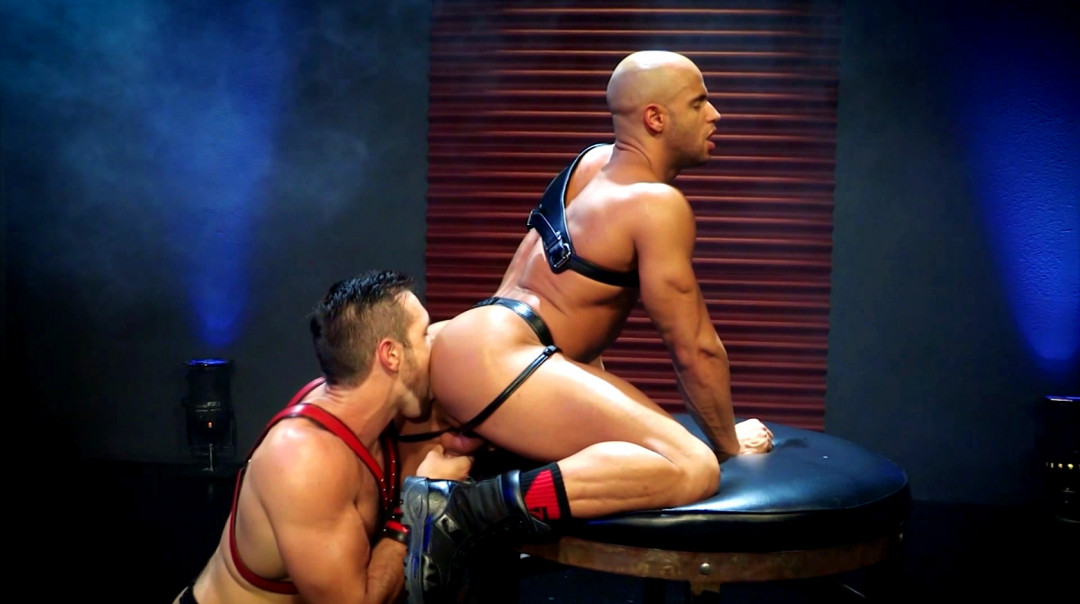 Alphas' ass ready for hard gay action