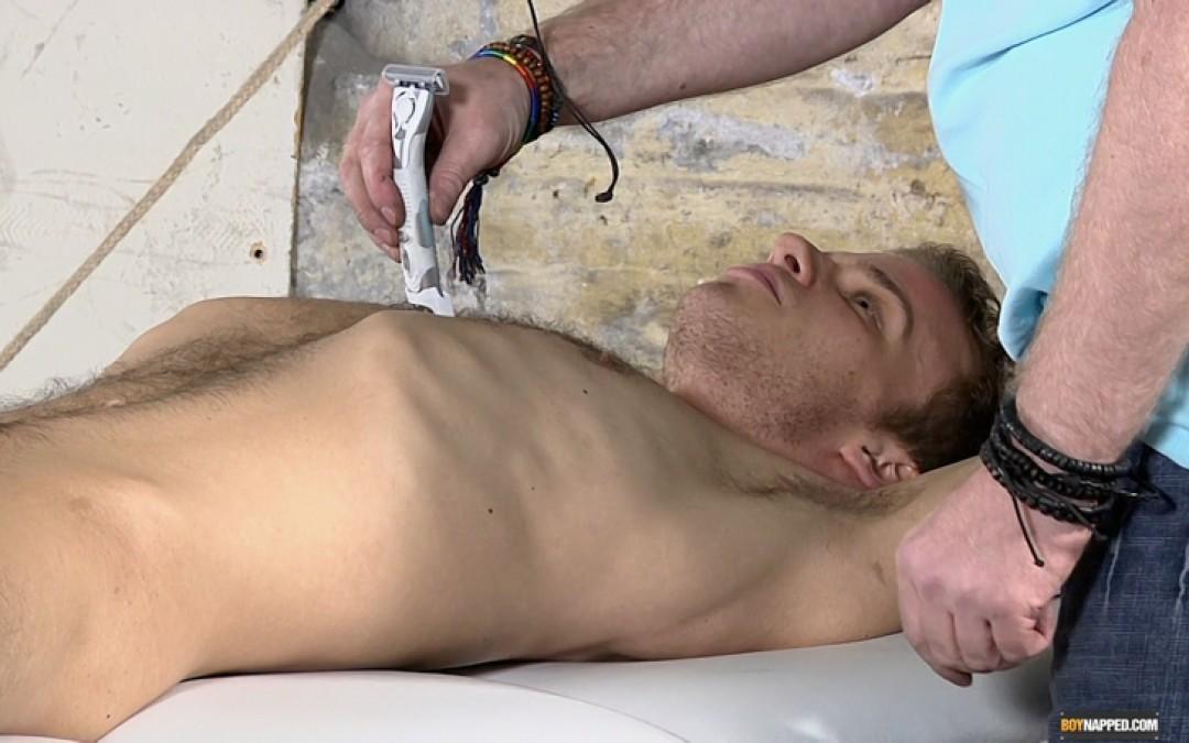 Horny Boy Leo Shaved Bare