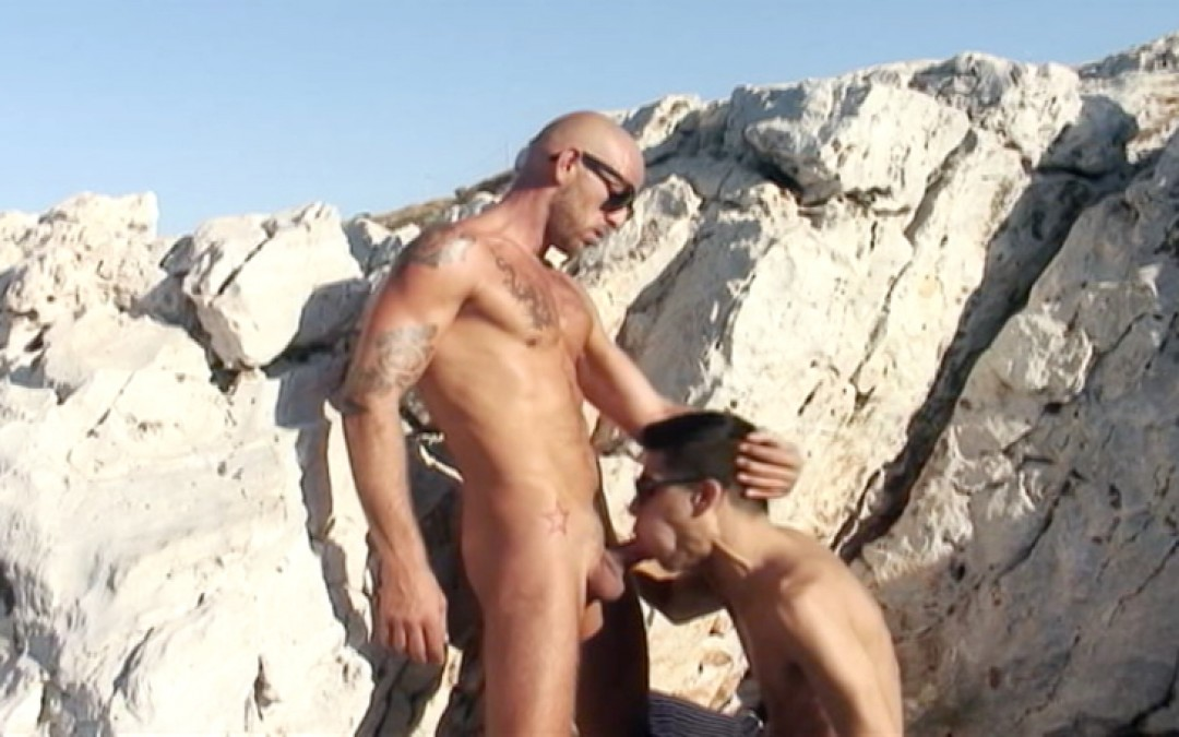 Nudist Twink gets fucked