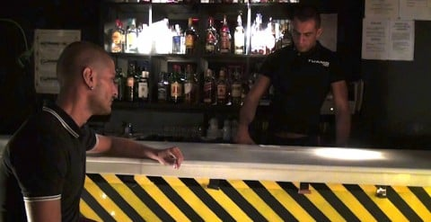 In a gay bar, a young boy gets drugged and sexually abused