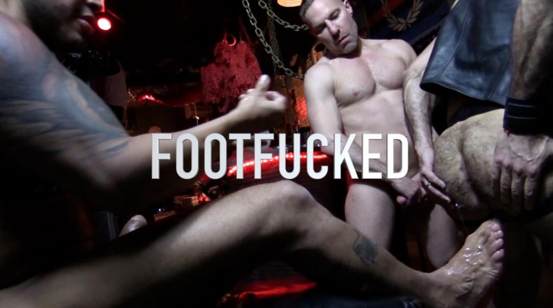 DEEP FOOT-FUCK