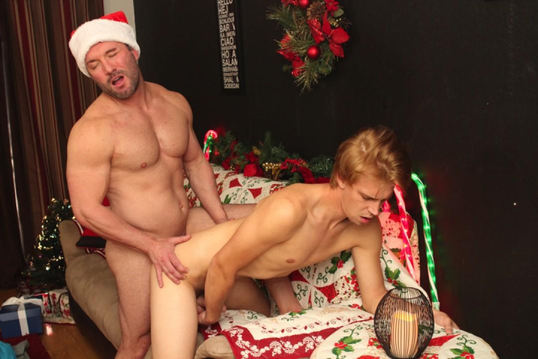 Hunky Santa Visits Patrick!