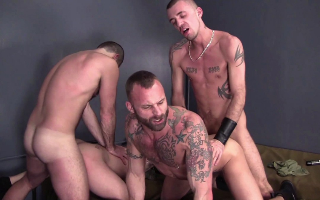 From young recruit to cum-dump