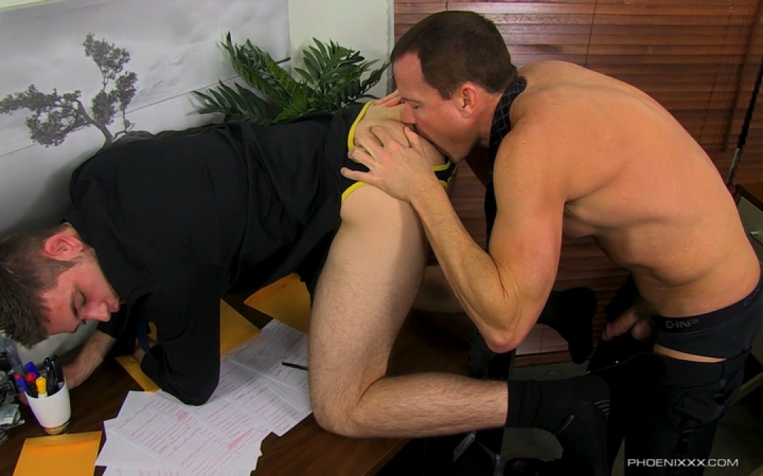 Duncan Gets Fucked In The Office