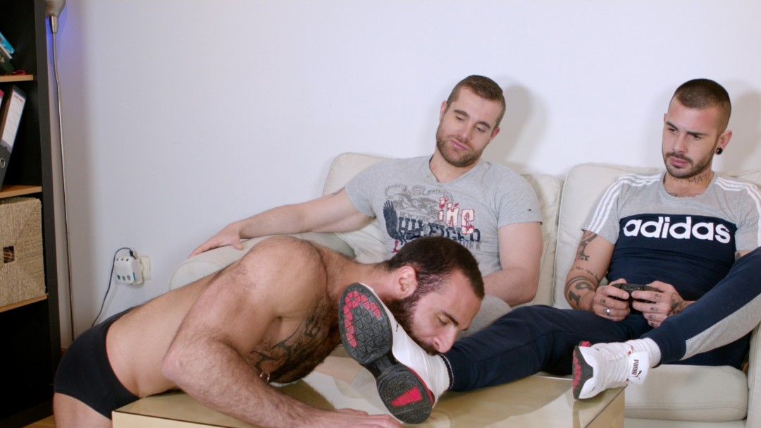 Two alpha studs for obedient slave