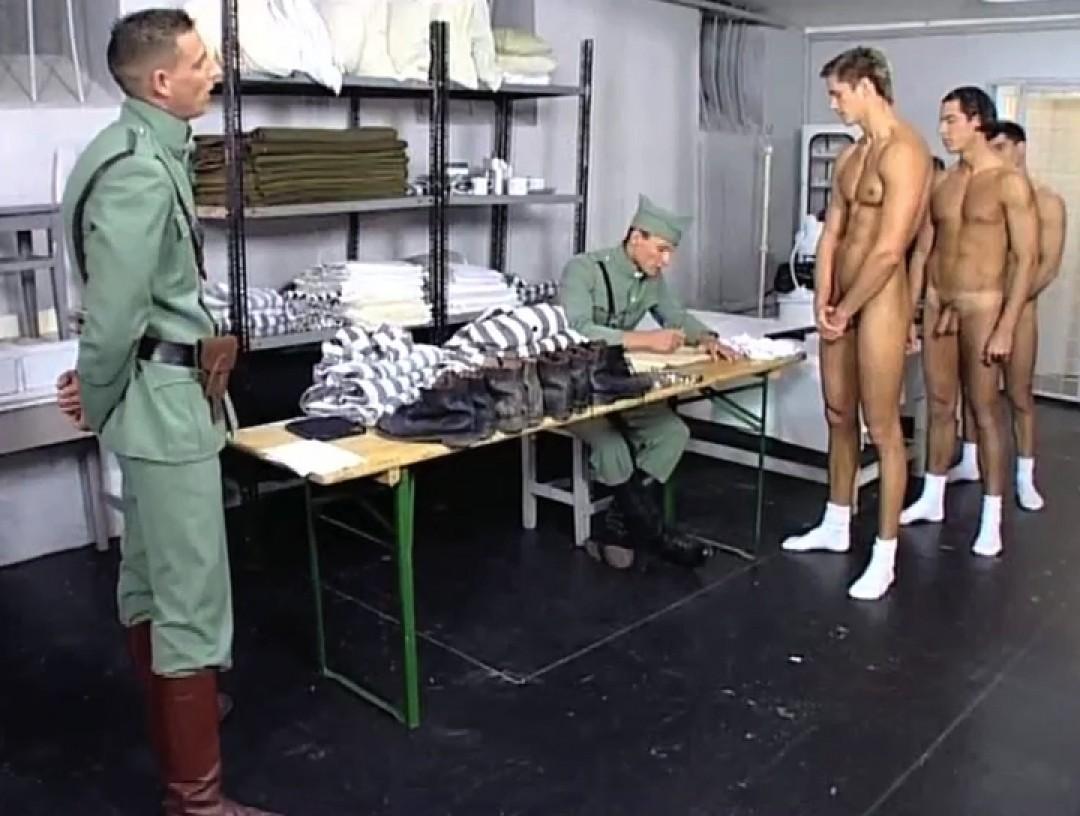 War prisoner used by three soldiers